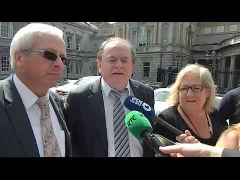 Launch of Private Members Bill regarding Irish Water by Independents