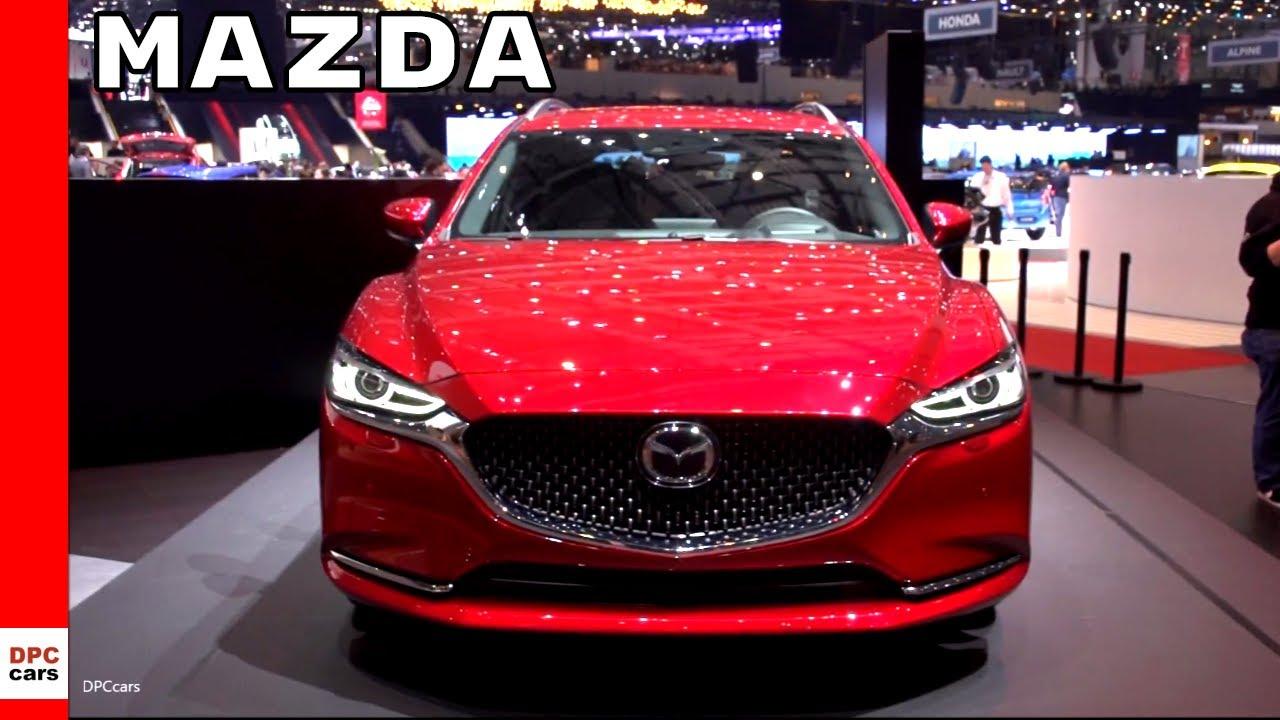Mazda6 Tourer, Vision Coupe Concept, & Kai Concept - YouTube