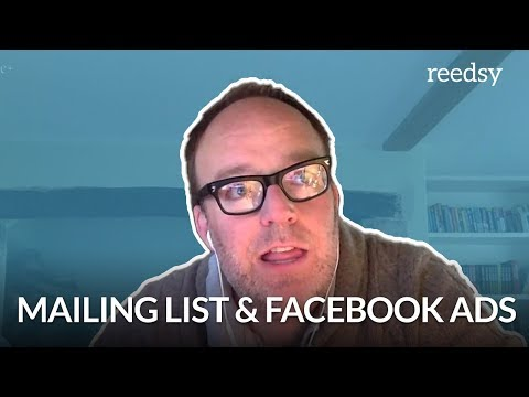 Mark Dawson's Tools for Success: Mailing List and Facebook Ads