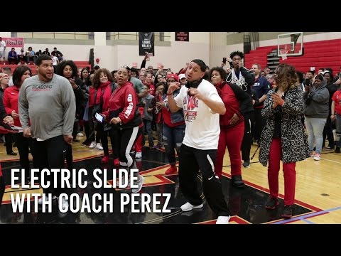 The Electric Slide with Coach Perez