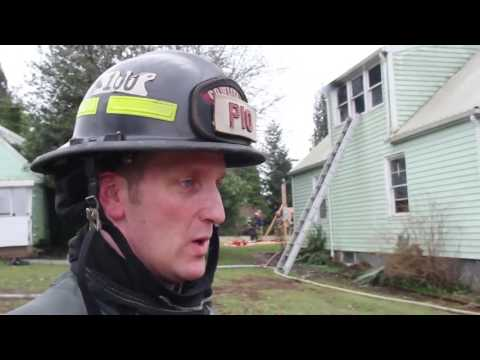 Live Burn Training House Fire Training Video   C2FR