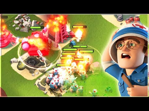 This Scorcher CANT Die!! Boom Beach Scorcher and Medic Gameplay