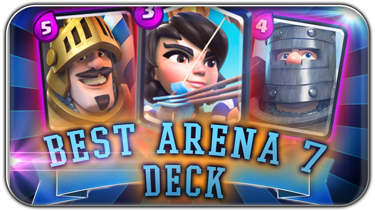 Clash Royale Arena 5 Deck Deutsch