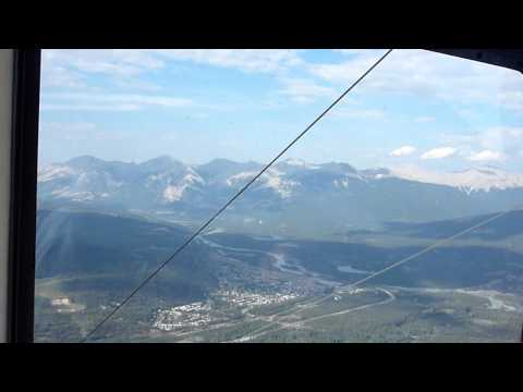 Cable Car to Whistlers Peak, Jasper, Alberta, Canada