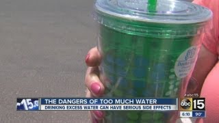 The dangers of too much water