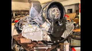 Porsche 911(Engine) Desmontagem e Montagem do Motor (Demontage et Montage du Moteur