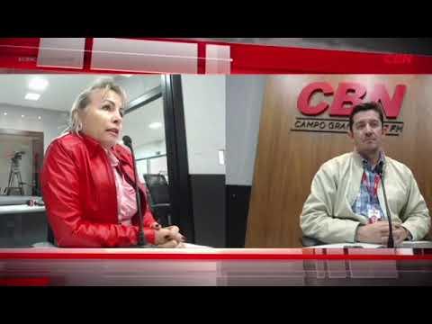 Entrevista CBN Campo Grande: pres. da Rede Feminina de Combate ao Câncer MS Magda Brás Alves