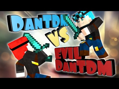 Minecraft DanTDM meets Evil DanTDM (minecraft Hello Neighbor Roleplay) - Видео из Майнкрафт (Minecraft)