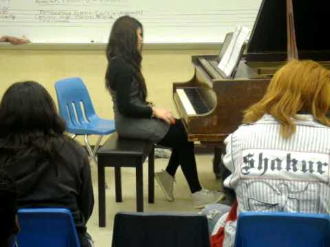 piano class perform stagg senior high school