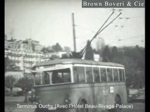 SAURER BBC / Lausanne / Le premier trolleybus de Suisse 1932