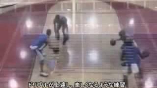 バスケットボール ハンドリングとドリブル