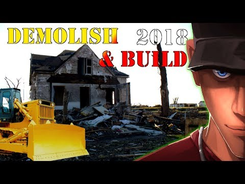 Demolish & Build 2018 Part 1 OPEN WORLD DEMOLITION GAME and its Awesome!