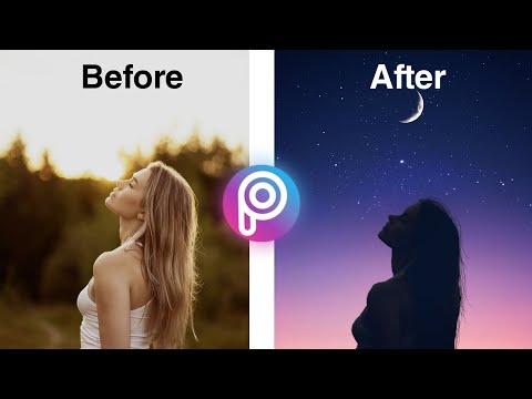 PicsArt Editing Tutorial   Silhouette Effect   MM Hacks