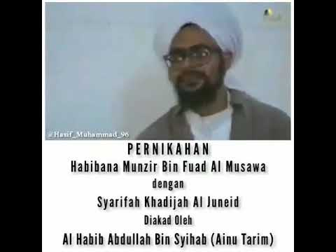 Pernikahan Habib Munzir Bin Fuad Al Musawa Youtube - Pernikahan Fatima Musawa, Fans Habib Muhammad Hasan Bin Munzir Al Musawa Posts Facebook