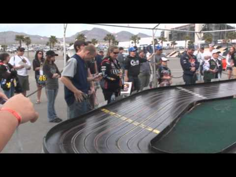 Nascar and Slot Car Racing at the Las Vegas Motor Speedway – 3/6/2011