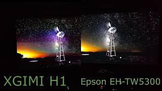 Сравнение XGIMI H1 и Epson EH-TW5300