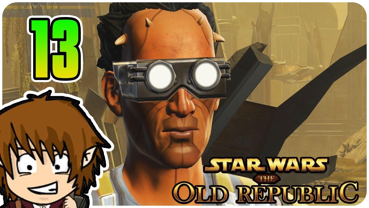 SWTOR SCHMUGGLER: CRAZY BRILLEN MANN! [Star Wars The Old Republic ...