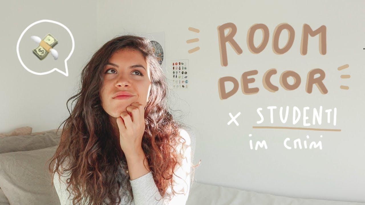 6 modi per decorare una stanza in affitto senza spendere for Decorare una stanza
