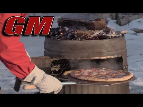 Trash Can Pizza Oven - An Awesome DIY Pizza Cooker for about $100!