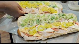 How To Create Sonya's Subway Inspired Cold Cut Sub Sandwich