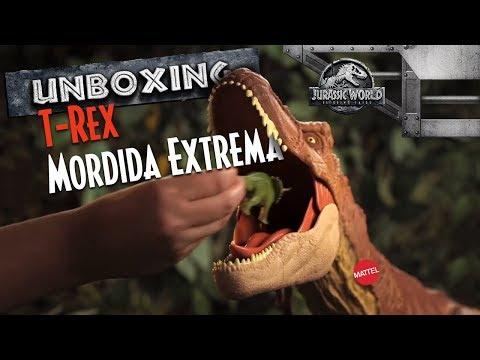 Jurassic World| Unboxing T-Rex Colosal