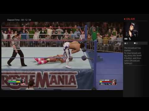 The big dog Roman reigns Live PS4 Broadcast
