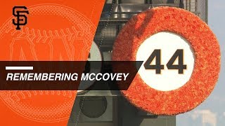 Celebration of Life for Willie McCovey