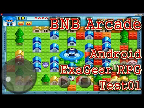 ExaGear RPG V2.5.7 Android BNB Arcade PC Game Play01-[PlayX]