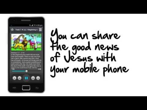 Share the Gospel with your Mobile Phone in thousands of languages