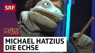 Michael Hatzius und die Echse | Comedy aus dem Labor | SRF Comedy