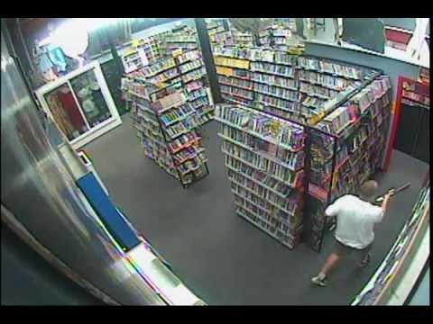 7/24/2012 - Hollywood Memorabilia Theft - Movie Madness Video - Portland Oregon