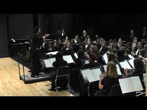 Rolesville High School Symphonic Band performs J.S. Jig on 3/27/2019