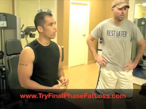 Final Phase Fat Loss Density Training to Burn Belly Fat