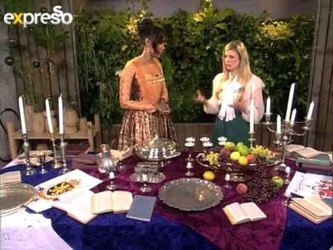 Medieval Table setting (15.1.2013) - YouTube