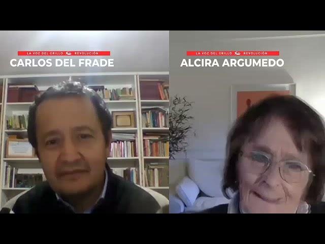 Carlos del Frade entrevista a Alcira Argumedo a 210 años de la Revolución de Mayo
