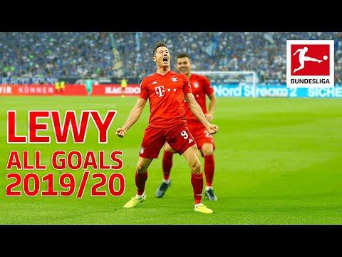 Robert Lewandowski - Europe's Top Striker 2019 - More Goals than Messi, Ronaldo and Mbappe