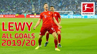 Robert Lewandowski - Europe's Top Striker 2019 - More Goals than Messi, Ronaldo and Mbappe