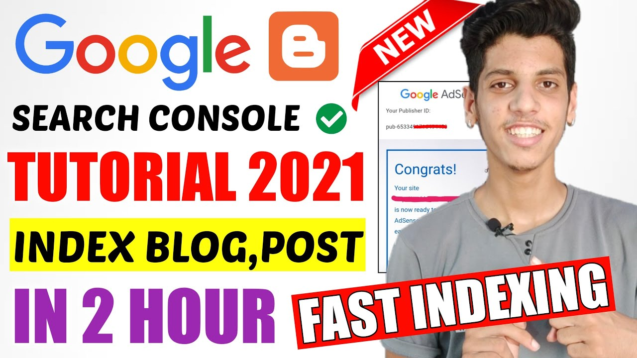 Download Google Search Console Advanced Tutorial in Hindi 2021 For Blogger | How to Submit Blog & Sitemap