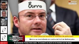 Israel se une a Trump  en contra de México