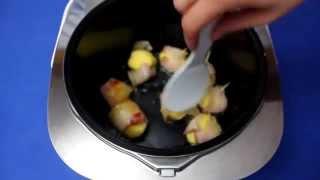 Рецепт приготовления запеченного картофель с грудинкой в мультиварке VITEK VT-4213 GY
