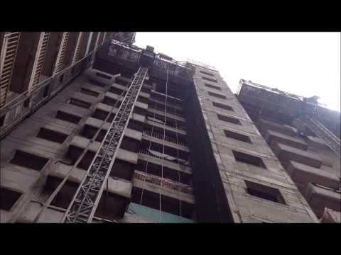 12 plus floors wall external plastering in 2 days only!!!