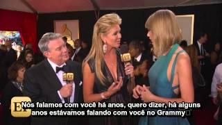 Taylor Swift em entrevista no tapete vermelho do Grammy [LEGENDADO]