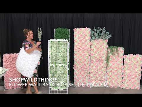 ShopWildThings Backdrop Stands For Flower Walls And Greenery Walls