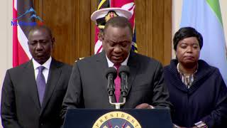 President Kenyatta: Nitunyitanire na tugacirithie urumwe