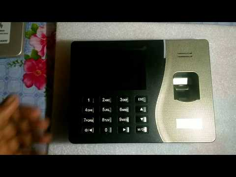 how to configure essl biometric attendance system - Myhiton