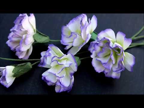Paper Flower Making -  Carnations Flowers by Archana Joshi (EK Success)
