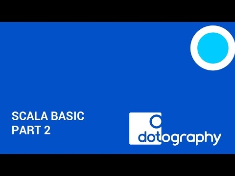 Bangkok Digital Learning Centre: Scala Basic Part 2