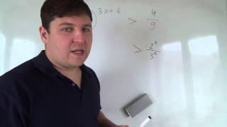 Алгебра 11 класс. 13 октября. Показательные неравенства #1