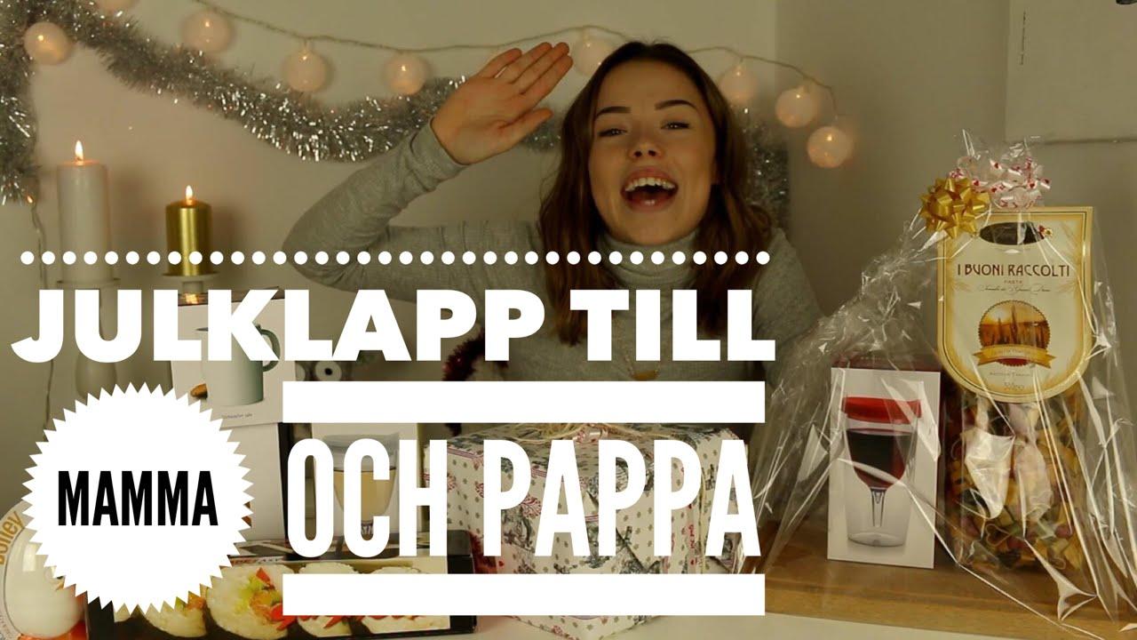 present till pappa 40 år JULKLAPPSTIPS TILL PAPPA OCH MAMMA   YouTube present till pappa 40 år