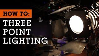 Comment Définir Jusqu'à 3 points d'Éclairage pour le Cinéma, la Vidéo et la Photographie
